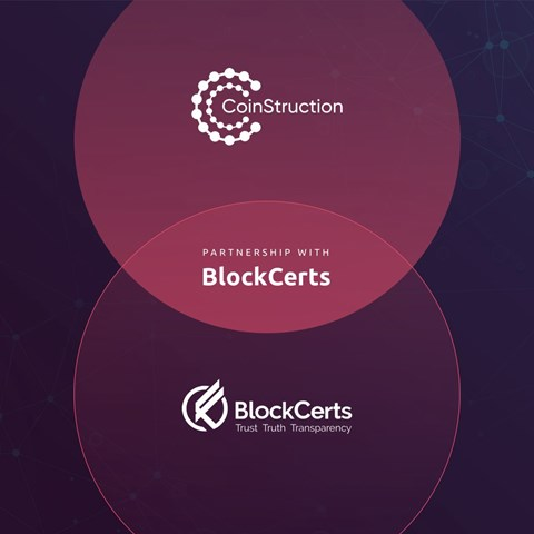 CoinStruction Joining Forces with BlockCerts.com, a Blockchain-based Platform for Secure Transactions